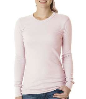 LIGHT PINK LONG SLEEVE T-SHIRT