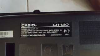 Keyboard Casio LK120