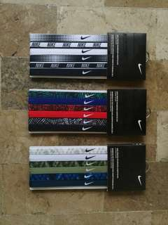 AUTHENTIC NIKE HEADBANDS