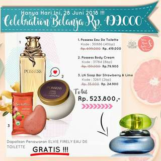 Parfum,Body Cream dan Sabun Soap Bar