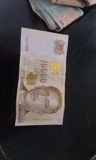 $10000 10k note