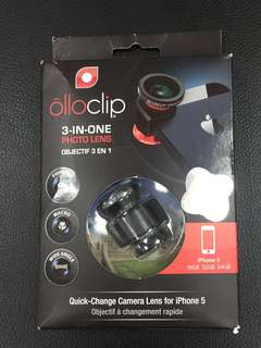 Olloclip 3-in-one photo lens for iPhone 5/5S
