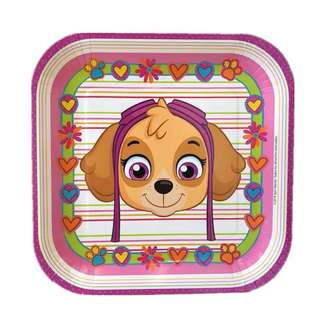 💕Paw Patrol Party supplies - Skye party plates 9""