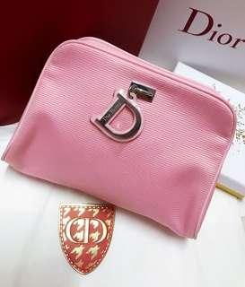 Dior pink pouch