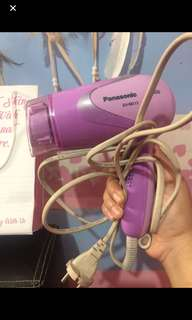 hairdryer panasonic ungu