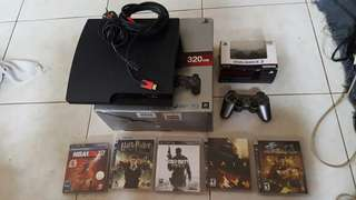 PS3 fat 320gb