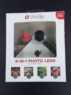 Olloclip  4-in-1 phone lens for iPhone 5/5S