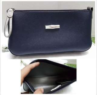 LC pouch trousse leather sz 23x12x6cm