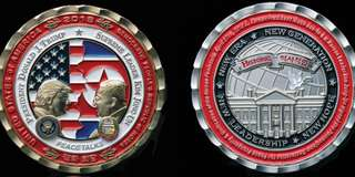 Trump Kim Summit Coin #1-3