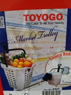 TOYOGO Market/Laundry Trolley