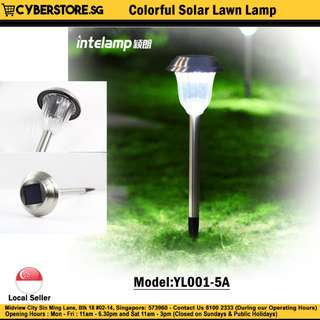 YL001-5A / Colorful Solar Lawn Lamp