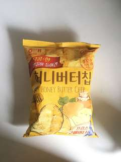 honey butter chips korea