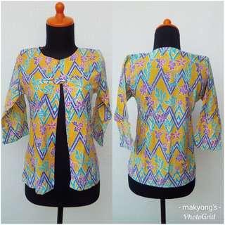 outer batik kuning