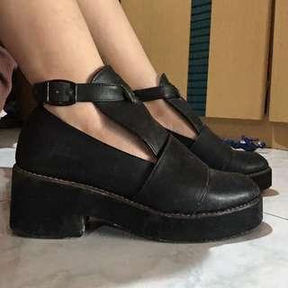Black Semi Boots