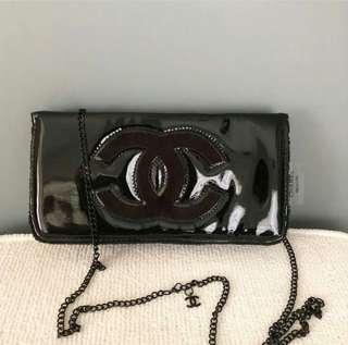 Chanel Glossy Clutch
