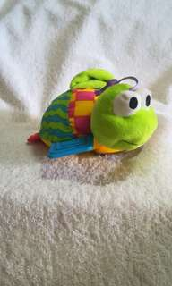 #winsb Lamaze Rattle Teether Tortoise / Turtle Baby Toy