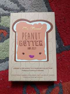 AUTHENTIC Too Faced Peanut Butter and Jelly palette