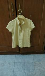 #TisGratis Land Ends Yellow Tshirt