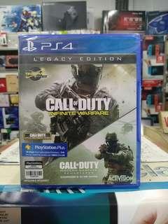 🆕 PS4 Call Of Duty Infinite Warfare Legacy Edition