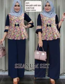 Set Shanum Navy