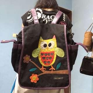 black backpack/ransel