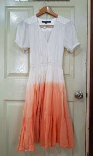 French Connection Ombre Summer dress
