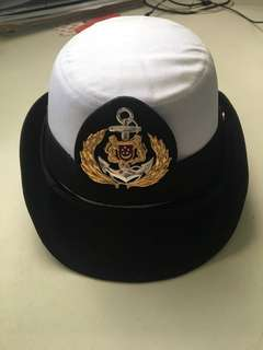 Navy woman's hat