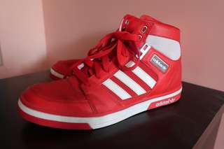 Red Hight Top Adidas