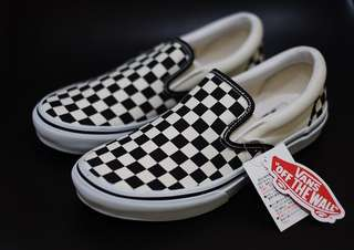 Vans V98CLA Japan Checkerboard Black white