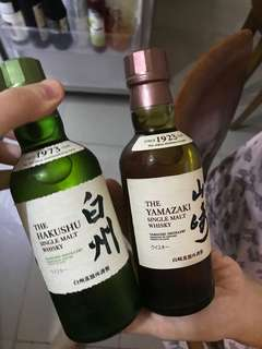 Yamazaki Japan Ori/Hakushu Japan Whisky