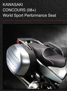 Sargent USA seat for Kawasaki GTR1400/Concours