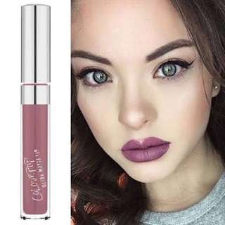 Colourpop ultra matte lipcream lumiere 2 bedazzled
