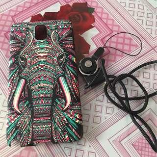 三星Samsung Note3手機套 夜光 大象 泰國款 硬套(送挂繩)