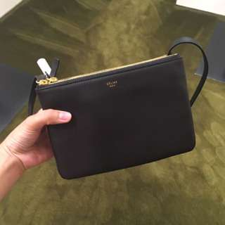 Celine Trio in black  celine 黑色