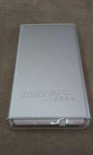🚚 Power bank 20000mah 手電筒