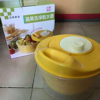 蔬果洗淨脫水器 瀝乾器 瀝水器