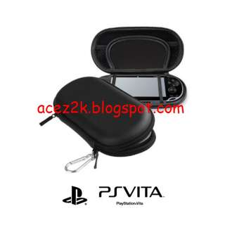 [BN] PSV PS Vita CITYWOLF EVA Hard Carrying Pouch - Black (Brand New)