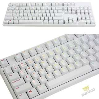 IKBC KD104 PBT Rainbow Legend Keyboard (Cherry MX - Red/Blue/Brown)