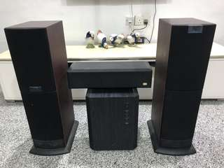 KEF Uni-Q Speakers,Amplifier, Trumpet, (originalS$6550)