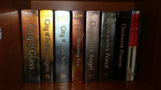 Mortal Instrument book 3- 6 (city of glass, city of fallen angels, city of lost souls, city of heavenly fire)+ Clockwork angel, clockwork prince, clockwork princess book 1-3