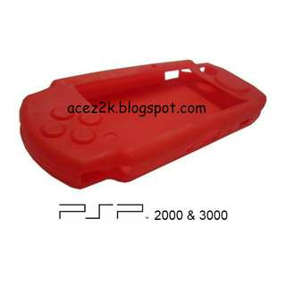 [BN] PSP Slim HQ Silicone Cover Skin (Brand New)