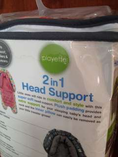2in1 head support