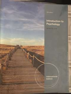 PSY101 Introduction to Psychology 10th Edition
