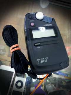 @Used SEKONIC L-380s Flashmate Light Meter