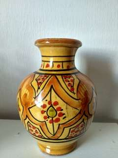 Moroccan small vase