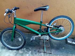 Mini mountain bike