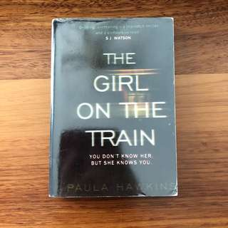 The Girl on the Train, Paula Hawkins