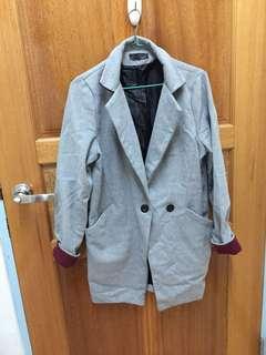 🚚 Sweesa配色西裝外套