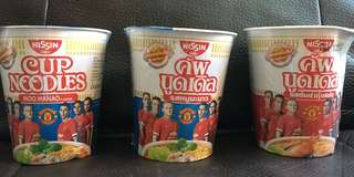 Cup Noodle - Man U edition (Expired)