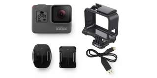 GoPro Hero 5 with mount & card